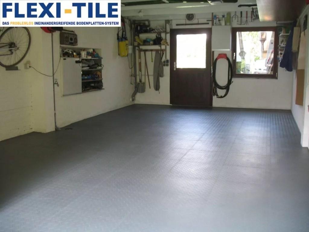 Fußboden Fliesen Pvc ~ Fußboden fliesen garage pvc garagenboden fliesen als alternative