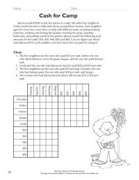 Deductive Reasoning Worksheet - Casademateo