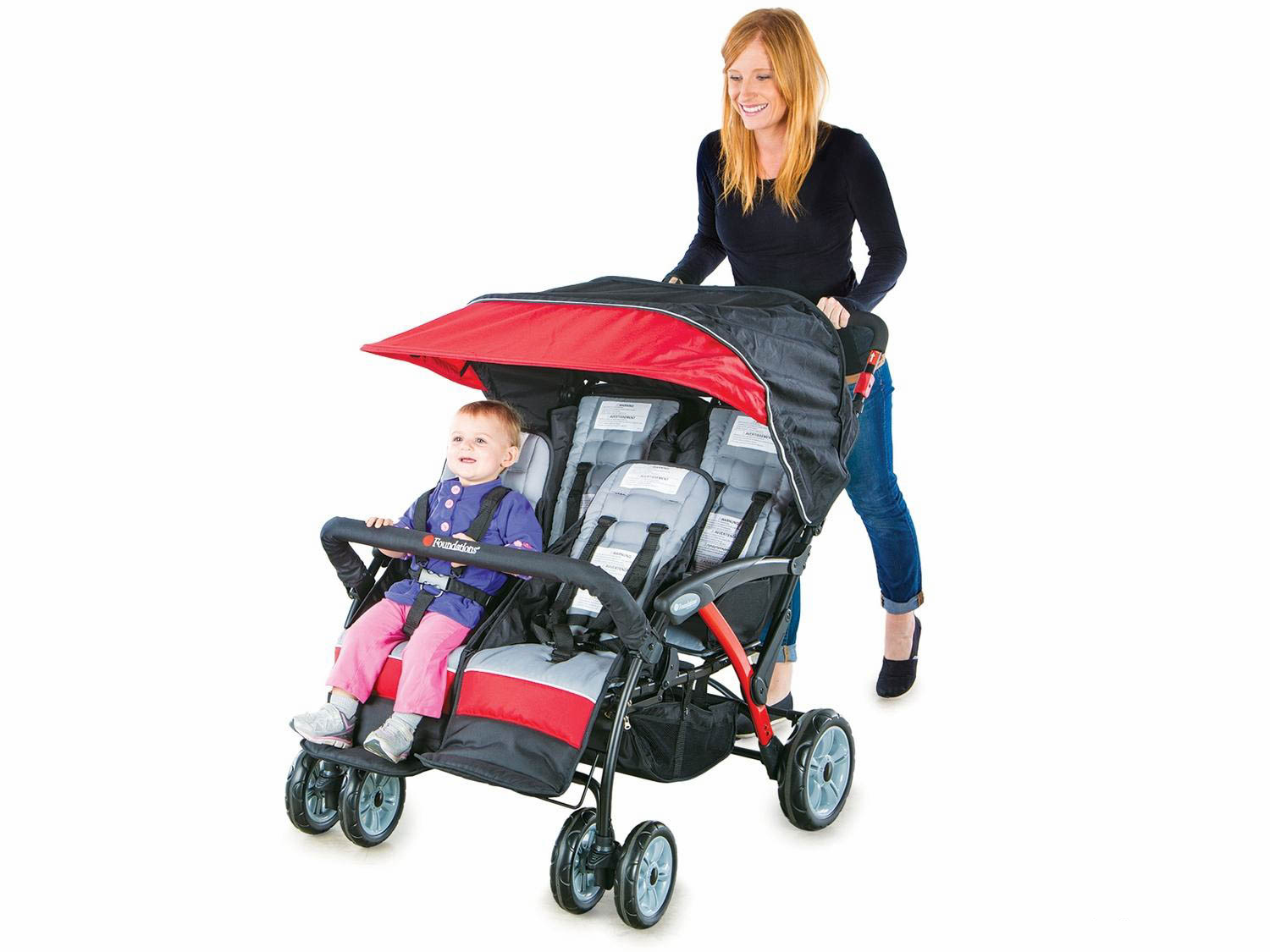 Baby Pram Or Pushchair Trio Quad Strollers Play With A Purpose