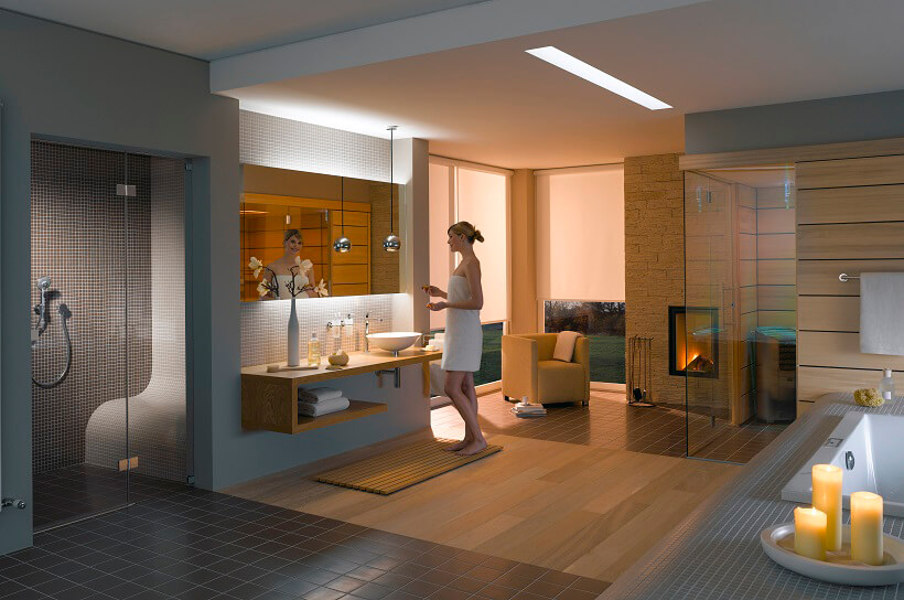 Beautiful Sauna Im Badezimmer Images - Milbank - milbank - badezimmer mit sauna