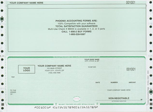 payroll check template - check template