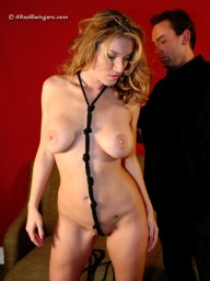 Anna Miller 4 Real Swingers dominated slave