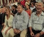 Εκδήλωση για τον εορτασμό της 43ης επετείου από την ίδρυση του ΠΑΣΟΚ και τη Διακήρυξη της 3ης Σεπτέμβρη, την Κυριακή 3 Σεπτεμβρίου 2017, στο Ζάππειο Μέγαρο. Στην εκδήλωση μίλησε  η Πρόεδρος του ΠΑΣΟΚ και Επικεφαλής της Δημοκρατικής Συμπαράταξης Φώφη Γεννηματά. (EUROKINISSI/XΡΗΣΤΟΣ ΜΠΟΝΗΣ