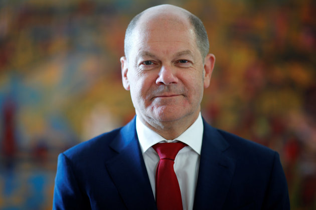 German Finance Minister Olaf Scholz poses for a portrait before a Reuters interview in Berlin, Germany, May 30, 2018.    REUTERS/Axel Schmidt