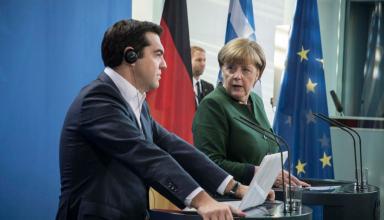 (Ξένη Δημοσίευση) Ο πρωθυπουργός, Αλέξης Τσίπρας και η καγκελάριος της Γερμανίας, Άνγκελα Μέρκελ, κάνουν δηλώσεις μετά την συνάντηση που είχαν στην Καγκελαρία, Παρασκευή 16 Δεκεμβρίου 2016. ΑΠΕ-ΜΠΕ/ΓΡΑΦΕΙΟ ΤΥΠΟΥ ΠΡΩΘΥΠΟΥΡΓΟΥ/Andrea Bonetti