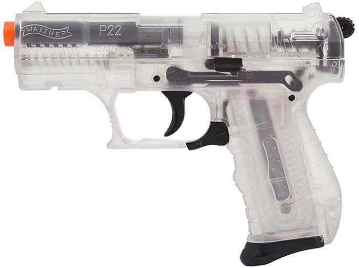 Walther Pistol Walther P22 Special Operations Clear. Airsoft Guns