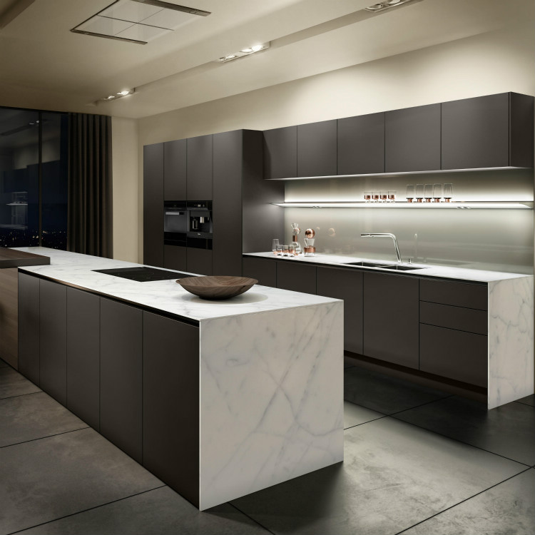 Lacquered Glass Kitchen Cabinets Grey Lacquer Kitchen Cabinet