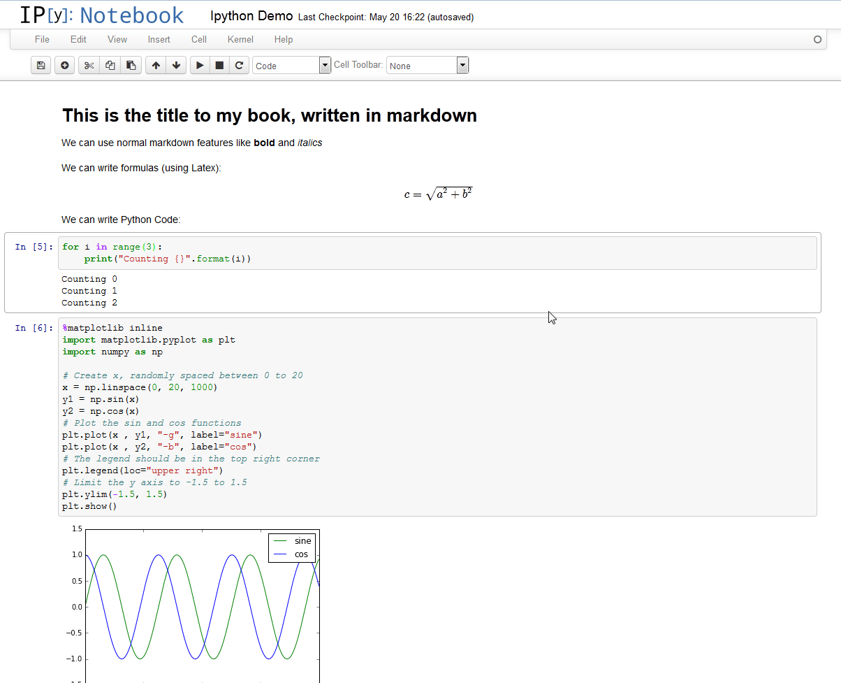 how to get only the python code from ipython notebook