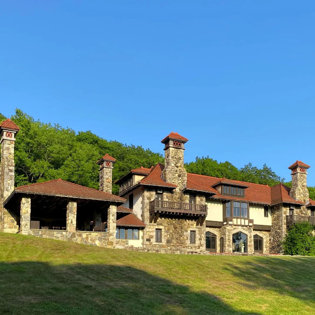 Stone And Stucco Chateau In Litchfield County Asks 2 2m