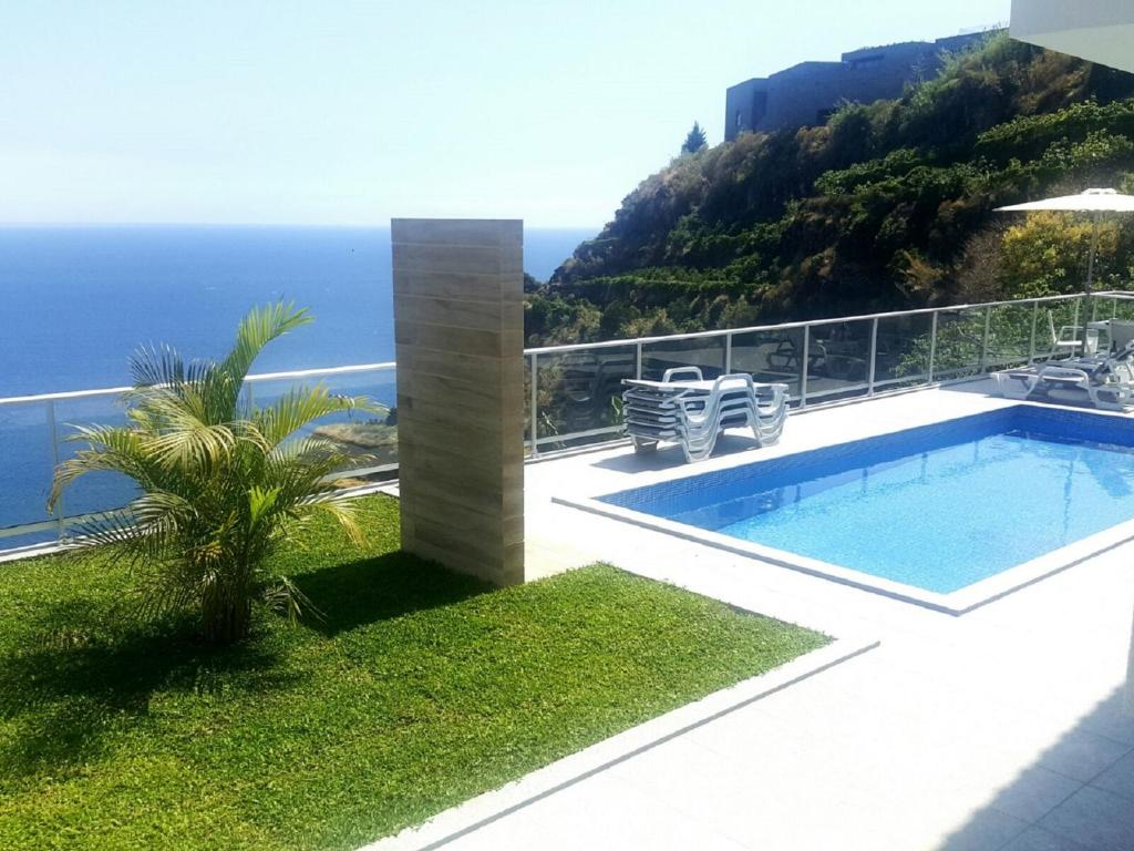 Ferienhaus Mit Pool Madeira Villa Atlantic With Great Sea View Schwimmbad In Madeira Island