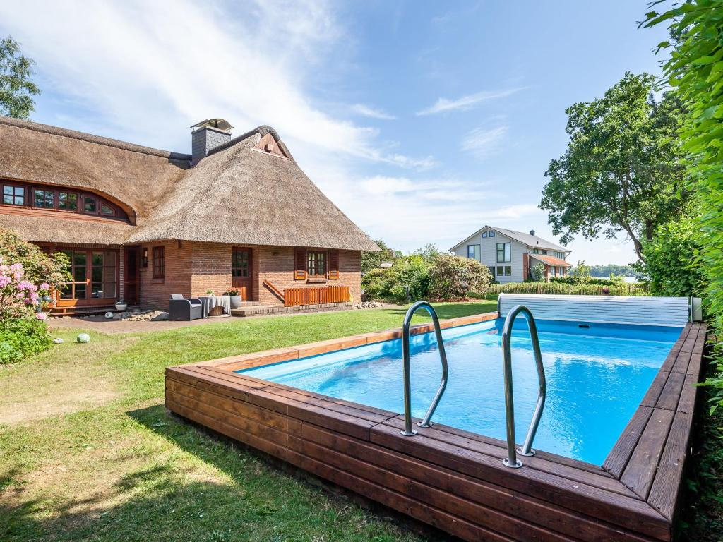 Garten Swimmingpool Holiday Home Reetseligwith Swimming Pool Sauna Kamin Garten Und
