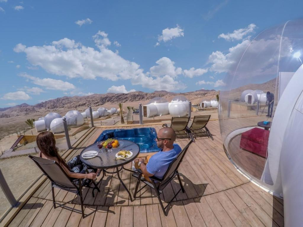 Outdoor Bubble Bett Petra Bubble Luxotel Vermietungen Wadi Musa