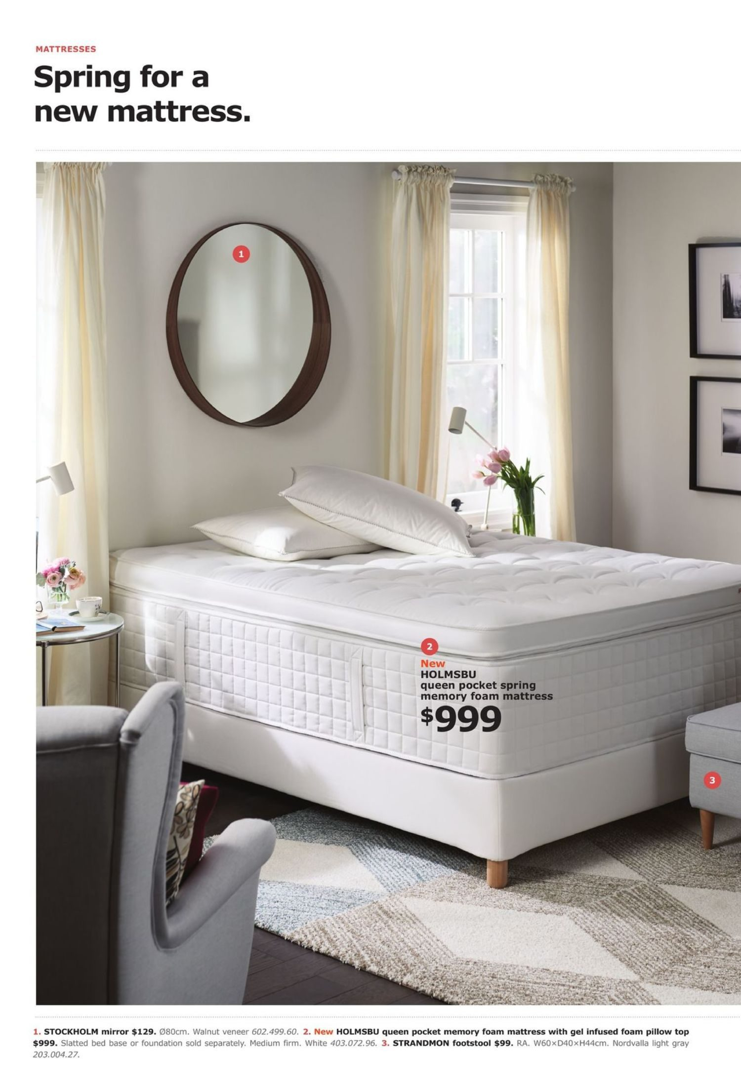 Ikea Boxspring 220 Cm Ikea Weekly Flyer The Bedroom Event Apr 18 May 16