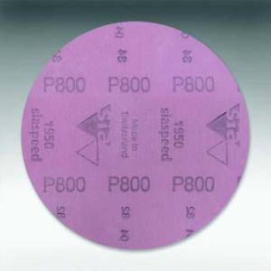 "1950 siaspeed, Grit 800-1500, Size 6"" (150 mm) Aluminium Oxide (film backing) SIA Abrasives"