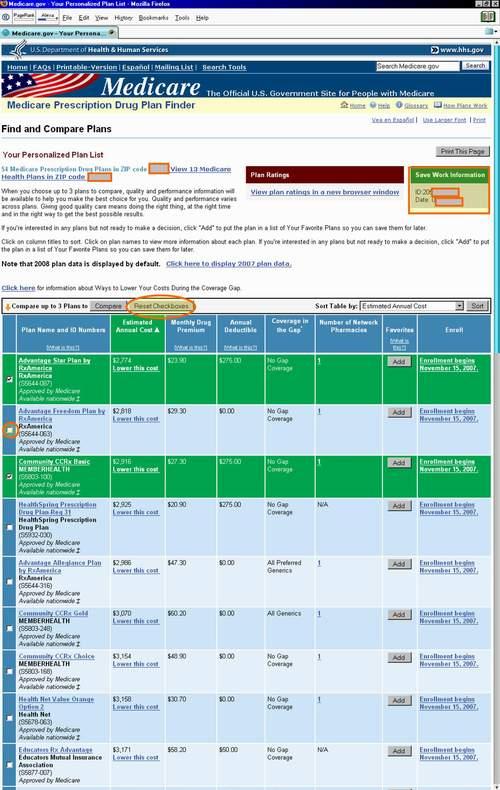Medicaregov 2006-2009 Plan Finder Tutorial from Q1Medicare