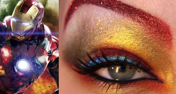 the avengers eye makeup jangsara iron man