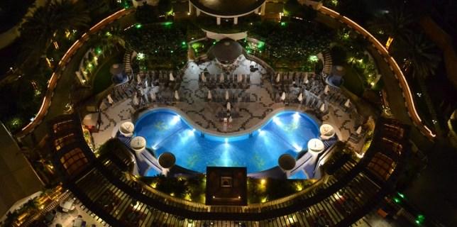 Good Evening Dubai -Al Murooj Rotana Swimming Pool