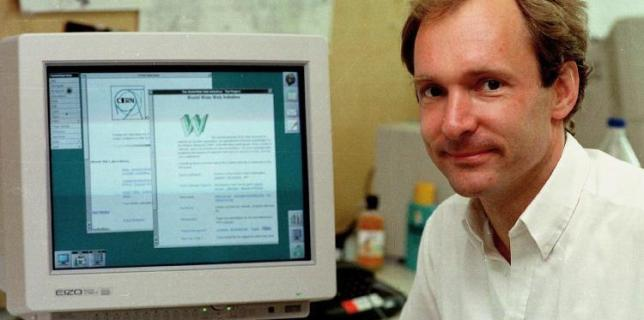 Tim Berners-Lee: The First Website Ever Created