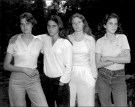 Portraits of 4 Sisters Taken Every Year For 36 Years