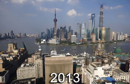 Shanghai Past and Present - 2013