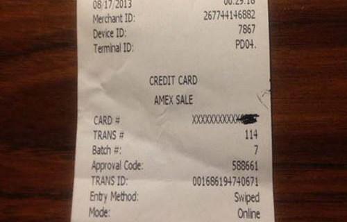 Utah Tipper Leaves $5,000 Tip on $214 Tab