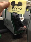 Artist Turns Train Passengers Into Cartoon Characters
