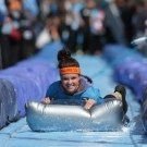 A 90 Meter Giant Water Slide in Bristol