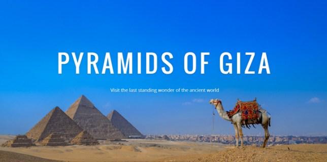 Egyptian Great Pyramid of Giza
