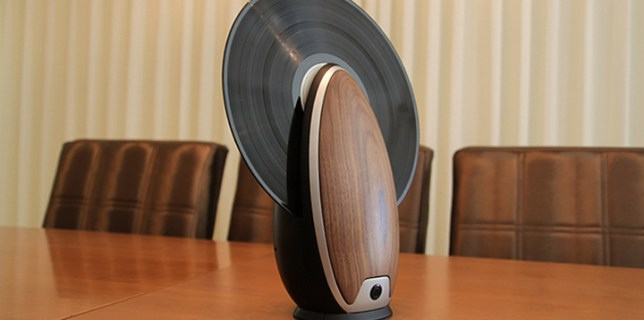 Vinyl Vertically Record Player