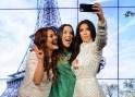 Kim Kardashian Selfie Waxwork at Madame Tussauds