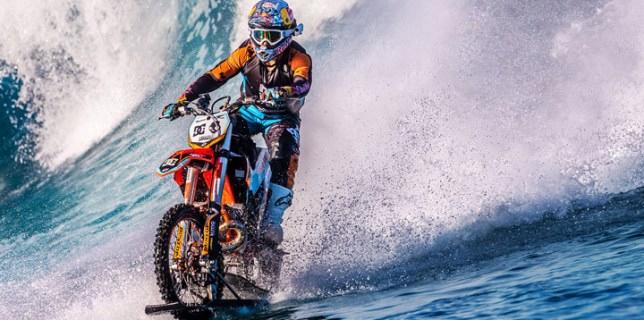 Robbie Maddison Riding The Waves