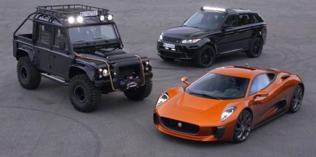 James Bond Spectre Cars
