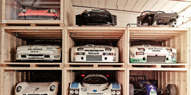 Porsche Museum Warehouse Car Collection 2
