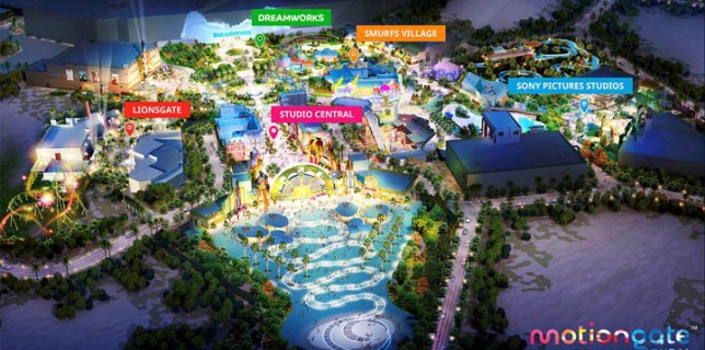 Motiongate Dubai Theme Park