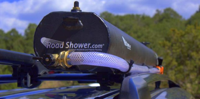 Road Shower Tank