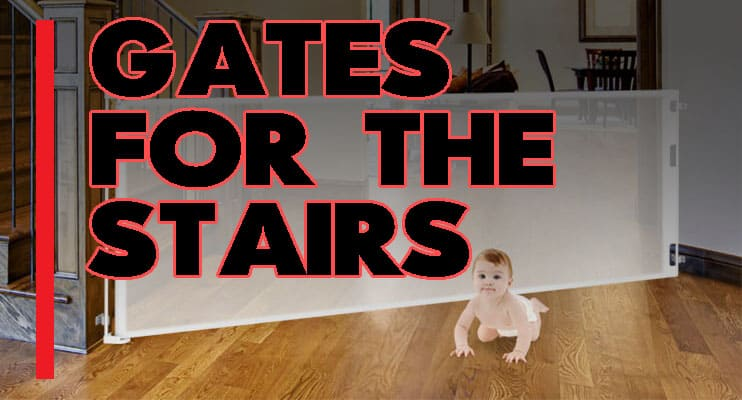 Top 5 Best Baby Gates For Stairs With Banisters Pet And