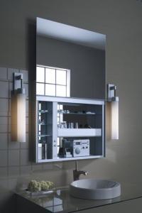 "Robern UC3627FP Uplift 36"" Mirrored Medicine Cabinet ..."