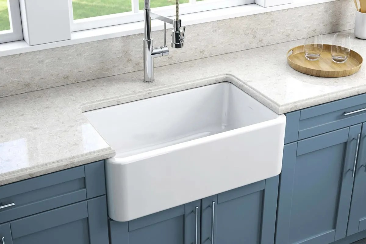 Shaw Farmhouse Sink Reviews Fireclay Sinks Everything You Need To Know Qualitybath Discover