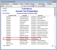 QuickBooks Tax Accounting for a Small Business