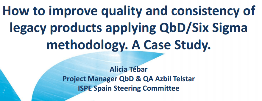 QbD for Pharmaceutical Legacy Products