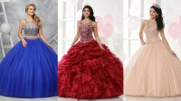 2017 Special Part One: 9 Modest Quinceanera Gowns with ...