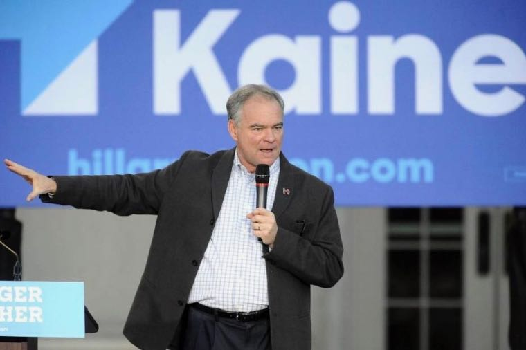 Tim Kaine to campaign in Charlotte for early voting