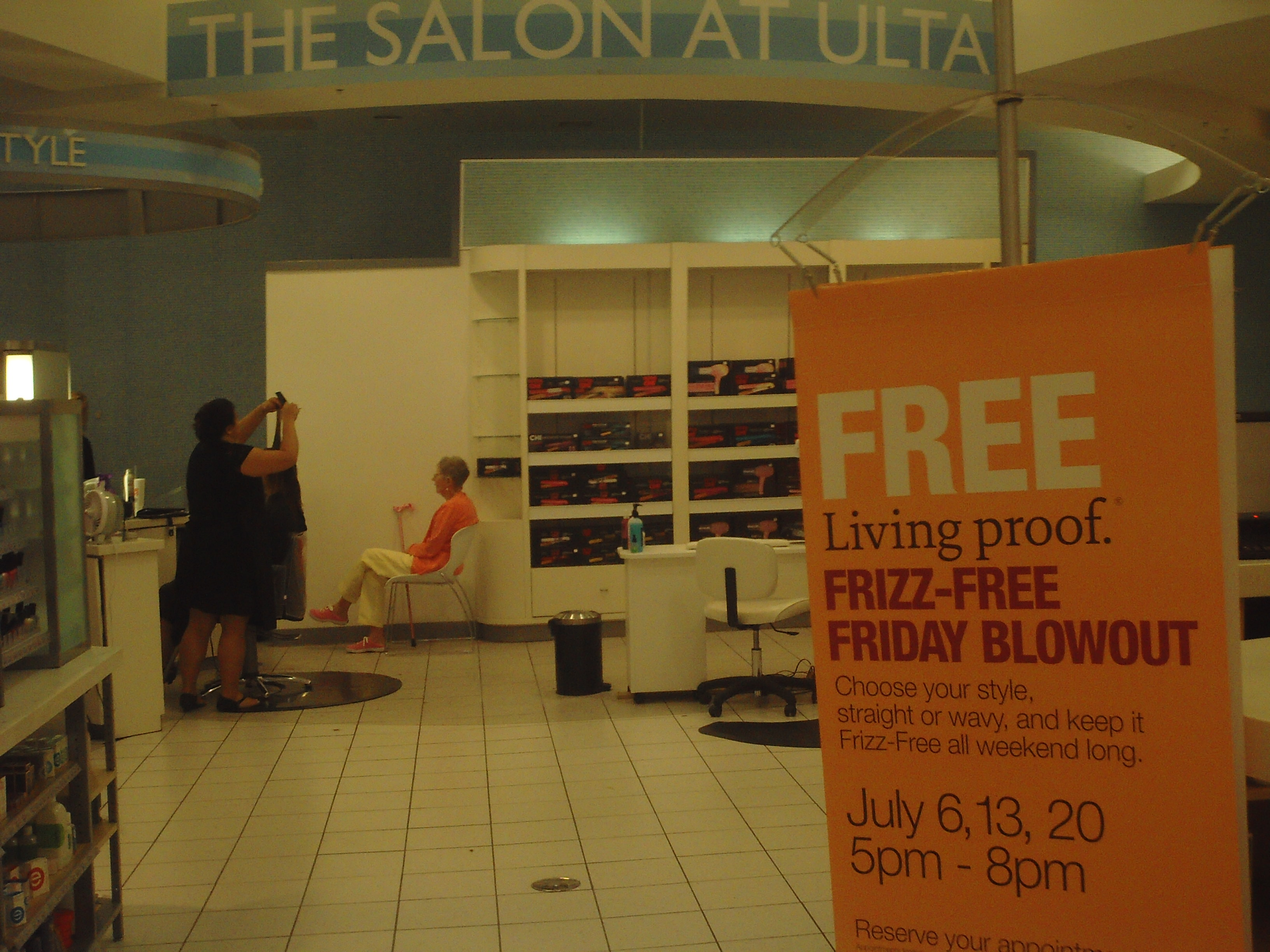 Salon But Promo My Hair Appt At The Ulta Salon Frizz Free Fridays Promo Qcsupermom