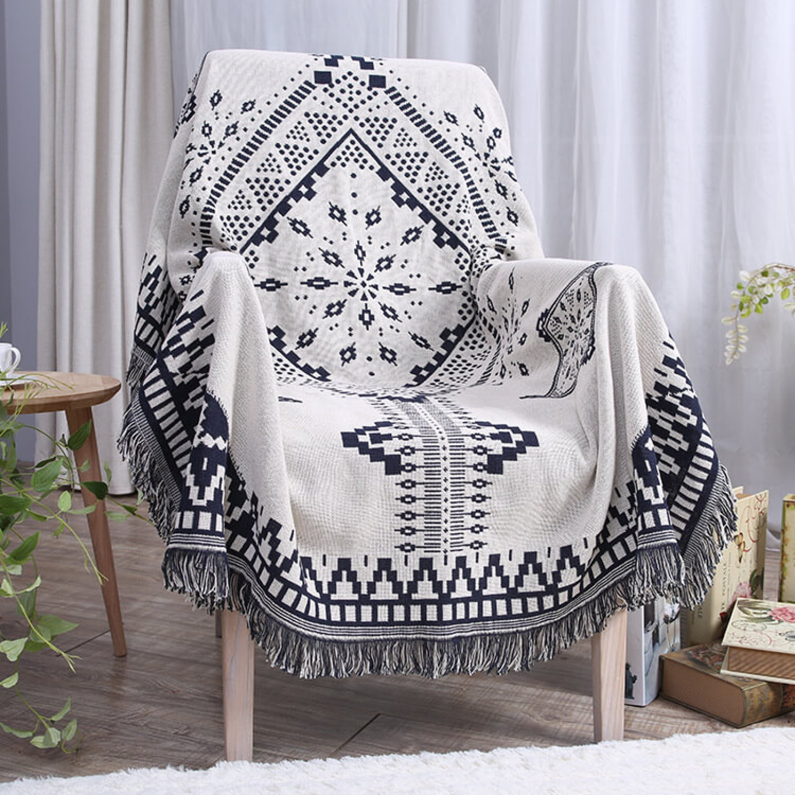 Decorative Sofa Throws Blankets Throw Blanket Western Southwest Motif Tribal Pattern Decorative