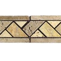 Travertine Border Tile | Tile Design Ideas