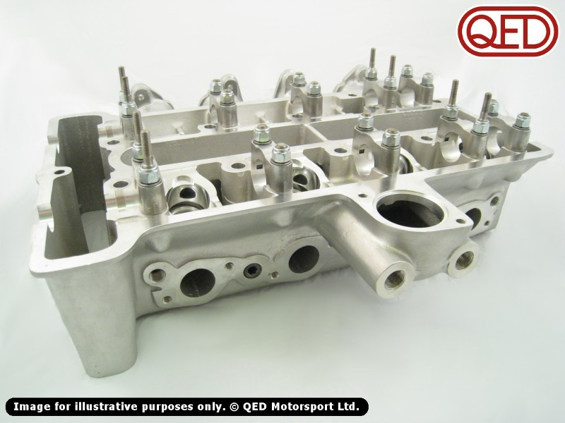 Lotus Twin Cam Cylinder Head, small/large port QED Motorsport Cy
