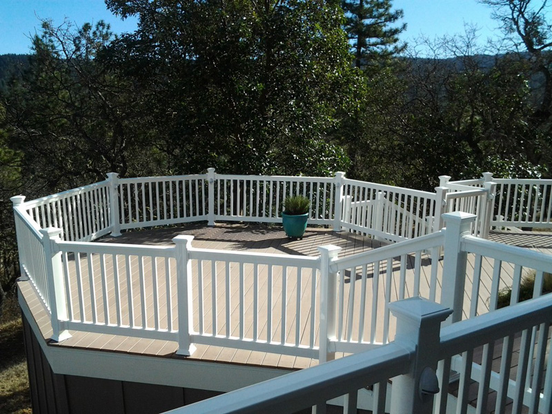 Regal Deck Design Reliable & Adorable Vinyl Fence From Quality Fence Company