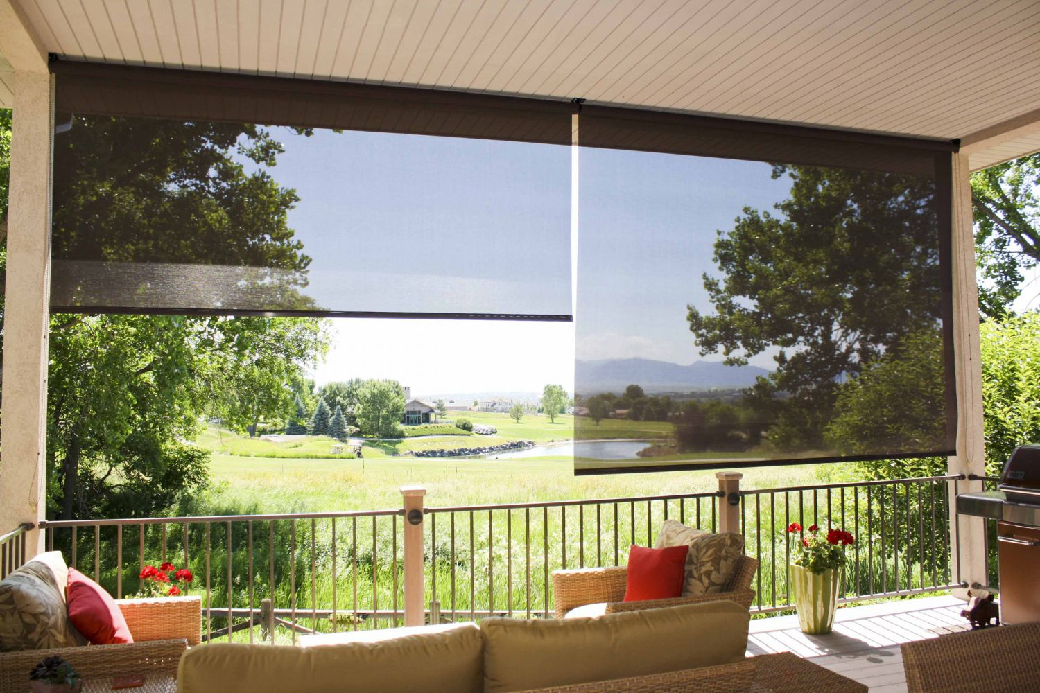 Outdoor Sun Blinds Insolroll Oasis 2600 Patio Sun Shades Innovative Openings
