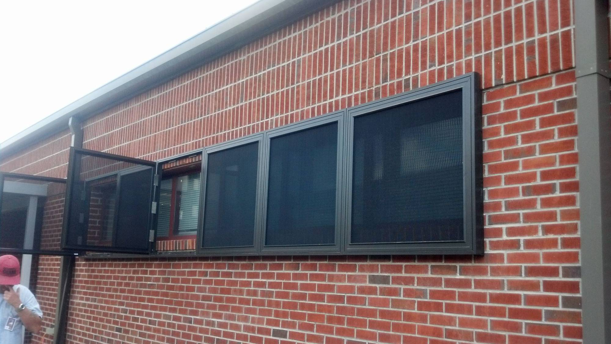 Custom Window Screens Security Screens And Security Shutters Innovative Openings