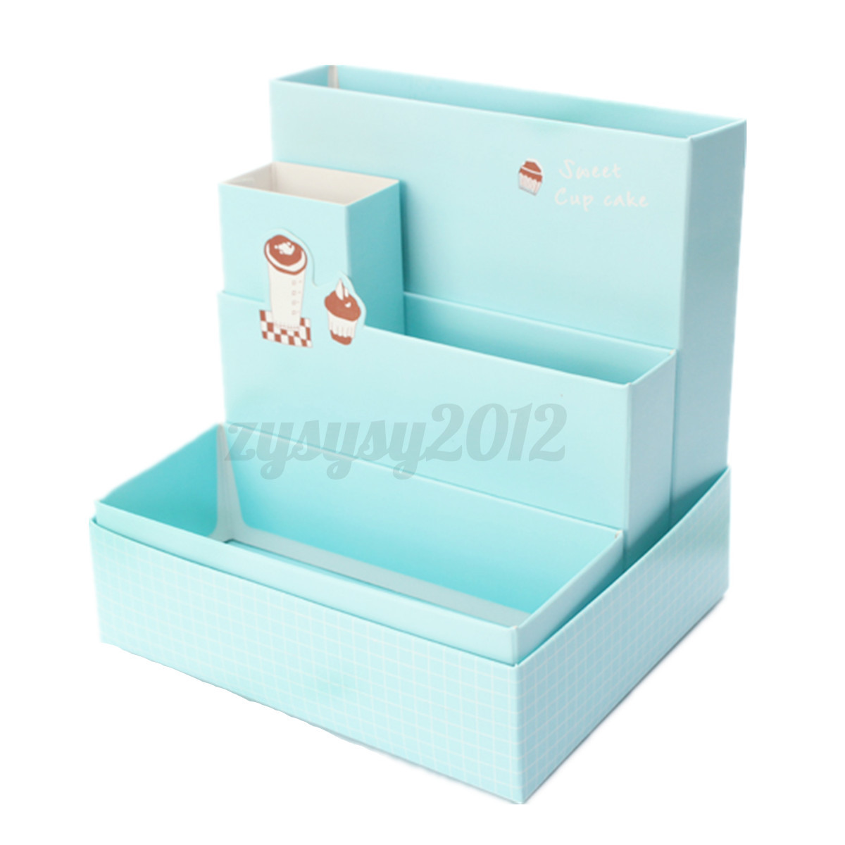 Cute Desktop Organizers Cute Paper Storage Organizer Stationery Box Makeup